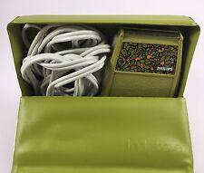 Vintage Philips Ladyshave Electric Razor Avacado Green STILL WORKS! W/Original C