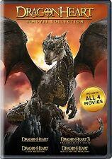 Dragonheart Complete 4-Movie Collection (1 2 3 4) + BONUS ~ BRAND NEW DVD SET