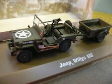 1/43 Jeep Willys MB militares ee. UU.