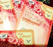 3W Clinic Fresh Collagen Mask for younger looking skin, anti ageing face mask