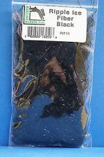 Ripple Ice Fiber Hareline USA brandneu Rip 11 Black