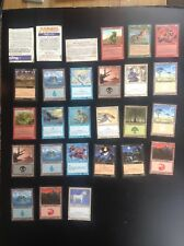 Lot de cartes Magic Deckmaster TBE