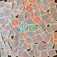 OHIO VENDORS RECEIPT STAMPS, INVESTOR'S LOT INCLUDES 125 STAMPS