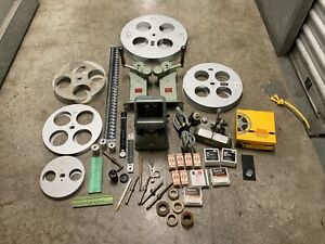 Vintage Zeiss Ikon Moviscop 16mm 35mm Editing Equipment Movies Rewinds Splicer