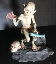 """Vintage Lord Of The Rings Smeagol & Gollum 9"""" Tall movie Voice Animated Doll Set"""