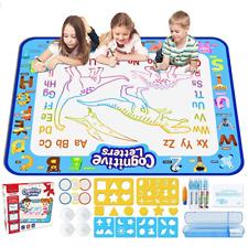 Doodle Mat,Large Water Drawing Mat Aqua Magic Doodle Kids Toy Gift For Boys Girl