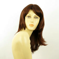 mid length wig for women dark brown copper intense ref: LILI ROSE 322 PERUK