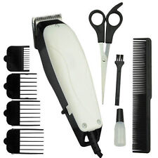 9PC PET HAIR CLIPPER ANIMAL GROOMING KIT DOG CAT FUR TRIMMER SHAVE