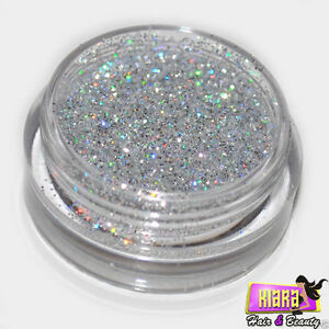 Silver Laser Eye Shadow Glitter Sparkling Dust Body Face Nail Party Make-Up
