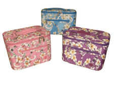 Cosmetic case,beautiful Hawaiian print Makeup Case,large size with inside pocket