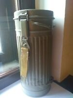 ORIGINAL WWII German Wehrmacht Soldier Gas Mask Canister
