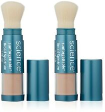 Colorescience Sunforgettable Mineral Sunscreen Brush SPF 30 Deep - 2 Pack