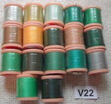 299 Purple 12 Cotton Reels 360 Yards 324M Sylko Polyester Thread Light Lilac No