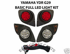 Yamaha G29 YDR Drive Golf Cart 2007'-up Full LED Head & Taillight LIGHT KIT