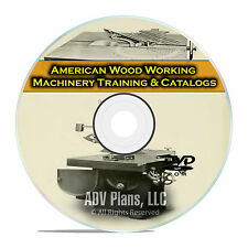 American Woodworking Machinery, Training Books, Catalogs, Publications PDF F33