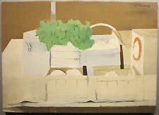 Charles Coiner c.1970 still life oil painting Easton PA Bucks CO. artist