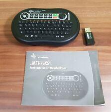 GeneralKeys Mikro-Multimedia-Funktastatur  mit Maus-Funktion MFT-78XS
