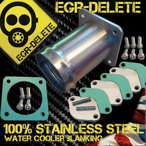 Fits LAND ROVER DISCOVERY 2 & DEFENDER TD5 EGR DELETE blanking plate Removal kit