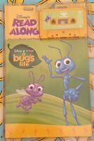 Walt Disney Read Along Book And Cassette New In Plastic CASE BLISTER PACK
