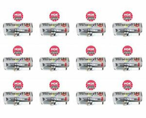 Set of 12 Mercedes NGK Spark Plugs 95875 0041597503