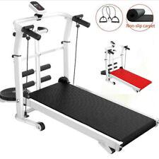 Household Folding Treadmill Quiet Fitness Running Walk Machine Installation-Free