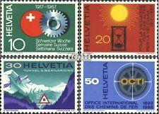Schweiz 858-861 (kompl.Ausgabe) gestempelt 1967 Jahresereignisse EUR 1,10