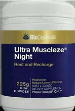 Ultra Muscleze Magnesium oral powder night time 225 g - OzHealthExperts