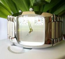 Men's Polished Analogue Square Wristwatches