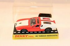 Dinky Toys 187 De Tomaso-Mangusta excellent plus all original in box
