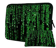 "LUXBURG 17"" Inch Design Laptop Notebook Sleeve Soft Case Bag Cover + Mousepad BG"