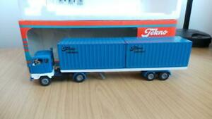 HB27: Early Tekno 1:50 Scale Volvo Container Truck - Exc / Boxed