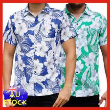 Unbranded Short Sleeve Hawaiian Casual Shirts for Men