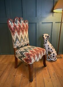 Traditional Chair Classic Hall Designer Teyssier Hawkeswood Fabric Ben Whistler