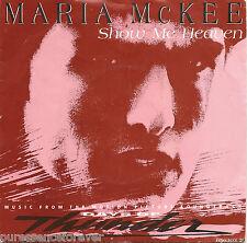 "MARIA McKEE - Show Me Heaven (UK 2 Tk 1990 7"" Single PS)"