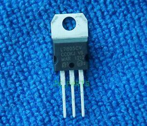 10pcs New L7805CV L7805 LM7805 ST TO-220 Voltage Regulator 5V 1.5A