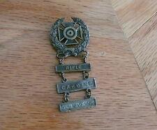 World War 2 Rifle Carbine Submachine Medal