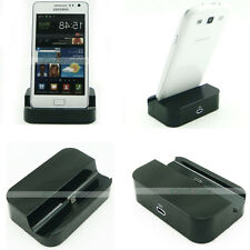 Black USB Data Charger Cradle Dock Station Holder for Galaxy Note S1 S2 S3 S4