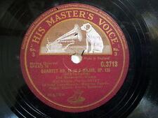 """78 rpm 12"""" BEETHOVEN quartet No 16 in F major Op 135"""