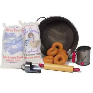 "Salvation Army WWI ""Doughnut Girl"" Set, Accessories Fits 18"" Dolls"
