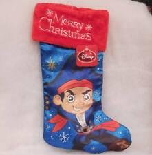 "Disney ""Jake the Pirate"" Christmas Stocking ""Merry Christmas""~Nwts"