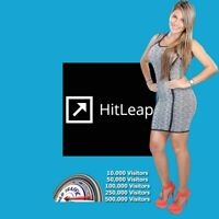 HITLEAP ACCOUNT WITH 500,000 HITS - Half Million Visitors - Lowest Prices