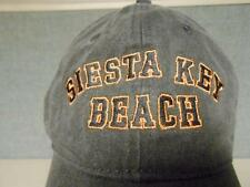 NEW SIESTA KEY BEACH  MENS SIZE XL XLARGE  Cap Hat BIN-92