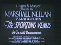 DVD The Sporting Venus (Marshall Neilan,1925) B. Sweet, R.Colman Louis B Mayer
