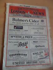 ILLUSTRATED LONDON NEWS OLD VINTAGE MAGAZINE APRIL 1953 lari conway kronprins