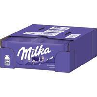 Milka Alpenmilch - Schokolade - 24x100 g Tf.