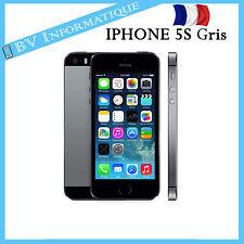 """APPLE Iphone 5S 32 Go GRIS SIDÉRAL - """"DÉBLOQUÉ TOUT OPÉRATEUR"""" BON ETAT"""