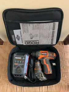 Ridgid 12-Volt Cordless Drill Kit
