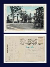 US LOUISIANA BASTROP RESIDENTIAL DISTRICT CARD CIRCA 1920 POSTED 1958 TO OHIO