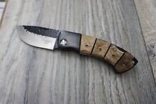 Herbertz Taschenmesser, rostfrei, Tagayasan Holz 12,1 cm