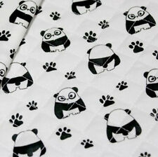 """Quilted Cotton Fabric BH Lovely Panda B2204 By The Yard 44"""" laceking2013"""